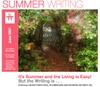 Summerwritingart